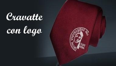 Cravatte con logo